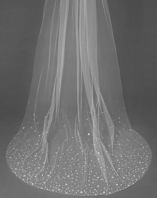 To Have & To Borrow Fleurette White Veil
