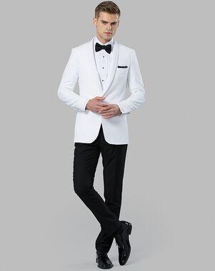 Menguin The Savannah White Tuxedo