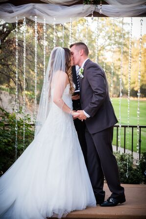 Traditional Ivory Tulle Veil