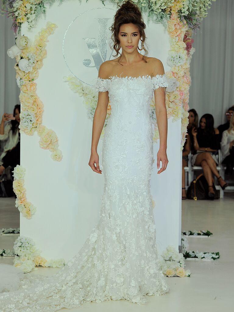 Julie Vino Fall 2018 Collection: Bridal Fashion Week Photos
