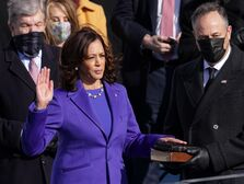 vp kamala harris husband douglas emhoff inauguration
