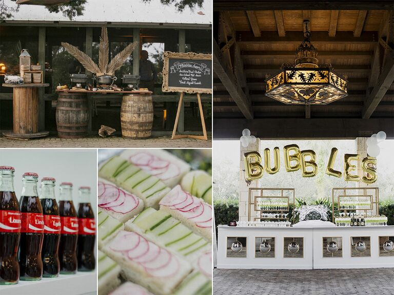 Food themed wedding trends for 2017