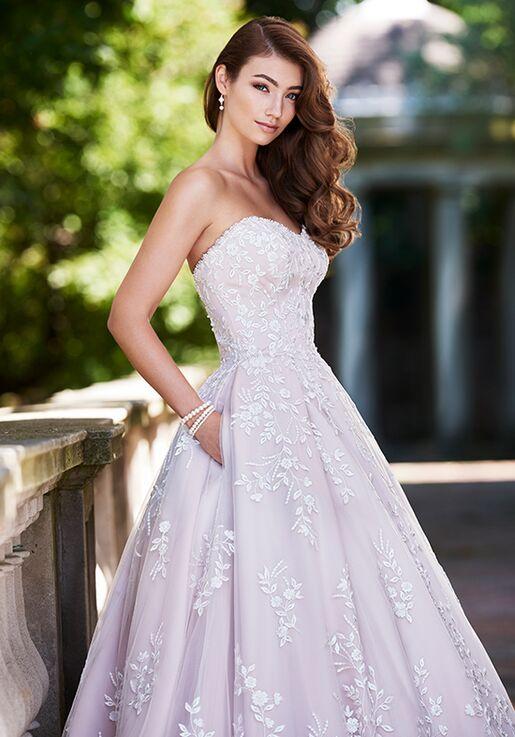 29dd555a841f Martin Thornburg a Mon Cheri Collection 119252 Hannah Ball Gown Wedding  Dress