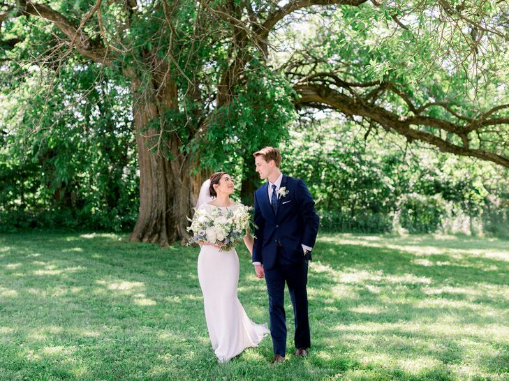 Bride and Groom Portraits for Wedding in Fayette, Missouri
