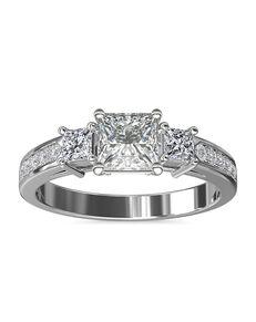 Blue Nile Princess Cut Engagement Ring