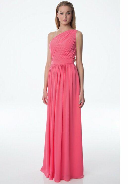 Bill Levkoff 991 Halter Bridesmaid Dress