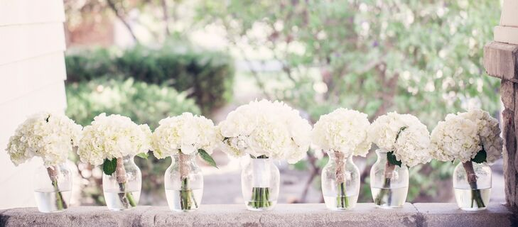 Reception Decor with White Roses