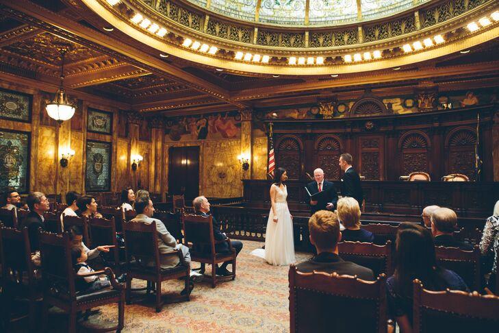 New York Supreme Court Wedding Ceremony
