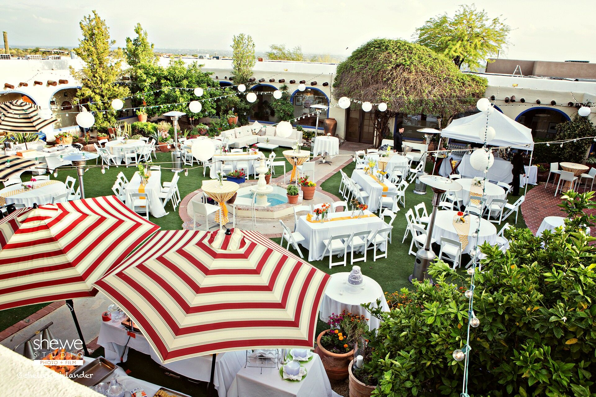 Wedding reception venues in tucson az the knot hacienda del sol guest ranch resort junglespirit Images