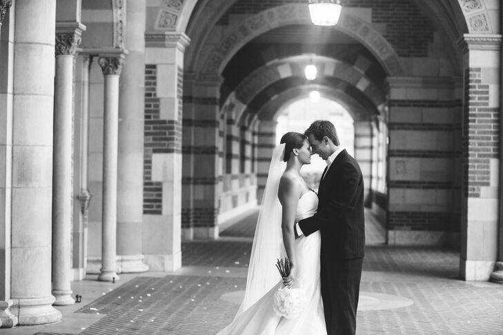 Romantic Shot, UCLA Campus Wedding