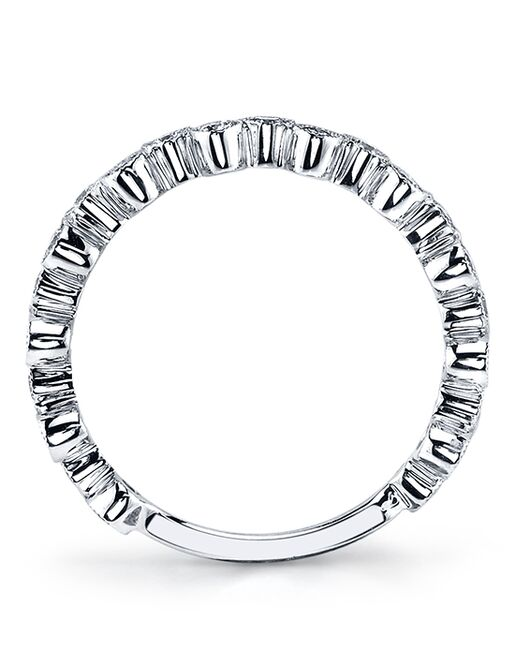 MARS Fine Jewelry MARS Jewelry 26202 Wedding Band White Gold Wedding Ring