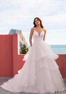 WHITE ONE FEMME Ball Gown Wedding Dress