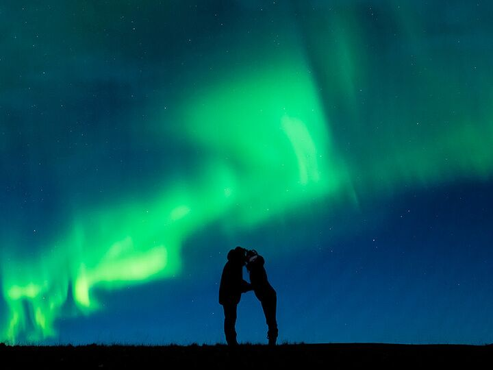 Proposal Under The Norther Lights
