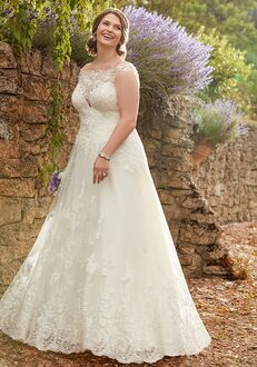 Essense of Australia D2327 A-Line Wedding Dress
