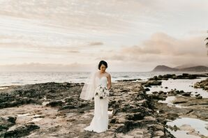 Elegant, Modern Wedding in Hawaii