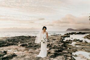 Elegant, Modern Wedding in Hawaii