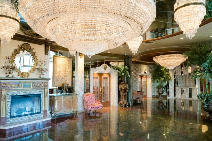 Reception at Leonard's Palazzo in Great Neck, New York