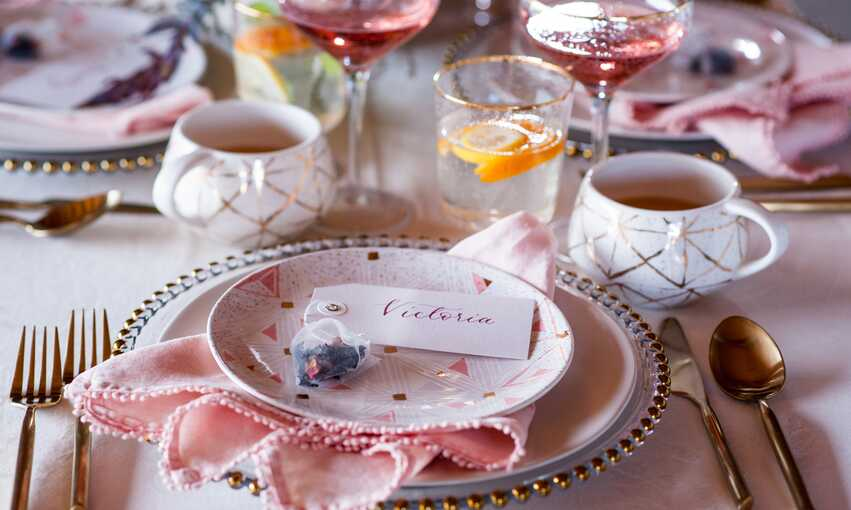 High Tea party themed inspiration and ideas