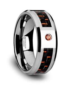 Mens Tungsten Wedding Bands W905-TCOC Tungsten Wedding Ring