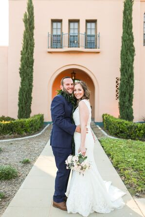 Romantic San Diego Wedding With Hawaiian Touches