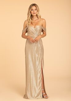 Hayley Paige Occasions 52002 Off the Shoulder Bridesmaid Dress