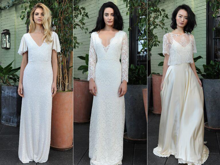 Sarah Seven Fall 2016 Wedding Dresses