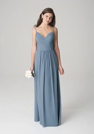 Bill Levkoff 1269 V-Neck Bridesmaid Dress