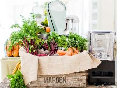 Kalm Kitchen vegetable and fruit smoothie bar