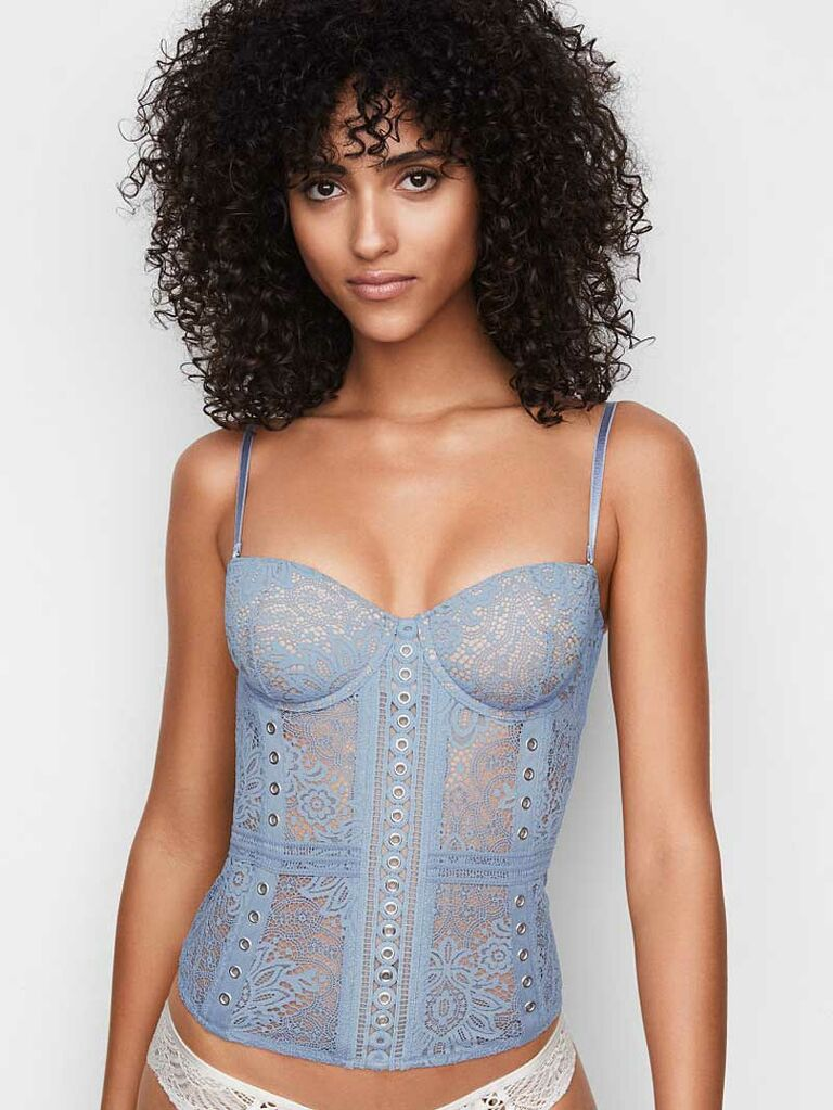 2be5f04fb Victoria s Secret Very Sexy crochet lace corset