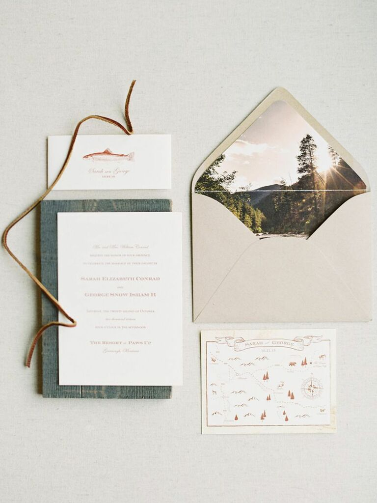 15 Rustic Ideas for a Woodland Wedding Theme