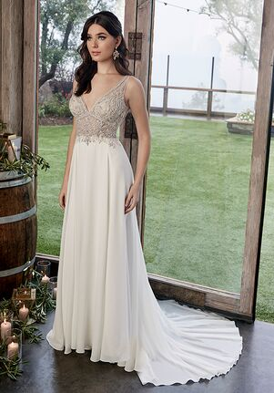 Casablanca Bridal 2422 Zoey Sheath Wedding Dress