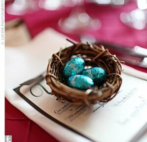 Bird's Nest Wedding Favors