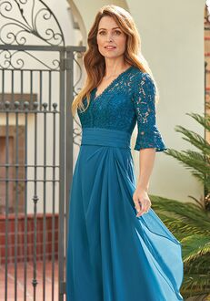Jade Mother of the Bride by Jasmine J205062 Blue Mother Of The Bride Dress