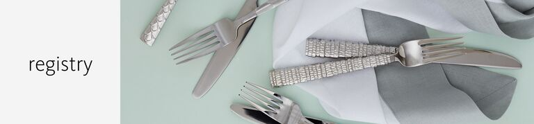 wedding tabletop vendors and registries with principles