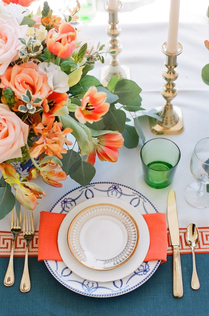 Eclectic Mixed Pattern Dinnerware China
