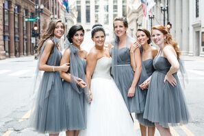 Romantic Sorella Vita Convertible Bridesmaid Dresses