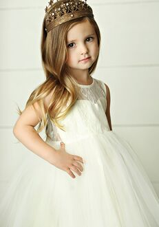 FATTIEPIE charlotte keyhole Flower Girl Dress