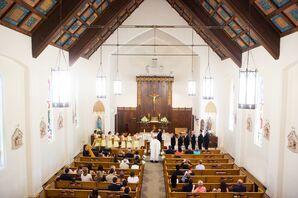 St. Helena Catholic Church Ceremony