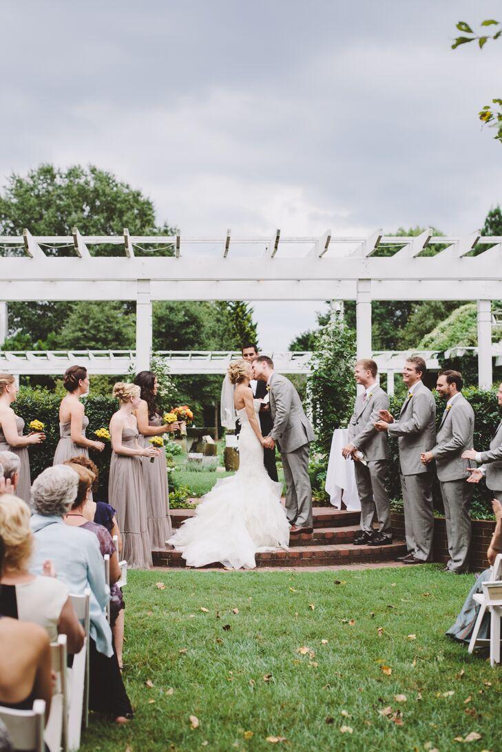 Wedding Ceremony at Fearrington Village