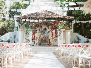 Spanish-Style Ceremony Space at Rancho Las Lomas in Silverado, California