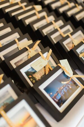 Custom Photo Favor Escort Cards