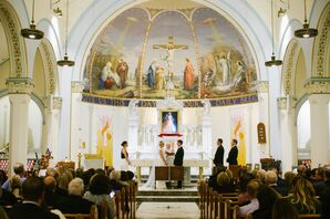 Traditional Ceremony at St. James Church in Red Bank