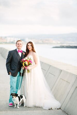 Colorful, Whimsical Seaside Wedding in Redondo Beach