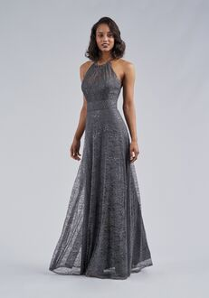 Belsoie Bridesmaids by Jasmine L214062 Halter Bridesmaid Dress