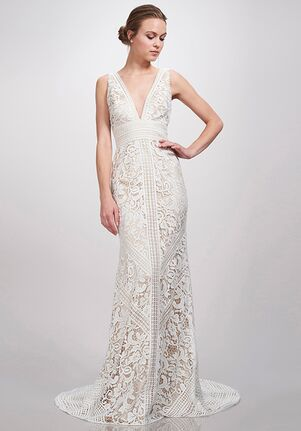 THEIA Leia Sheath Wedding Dress