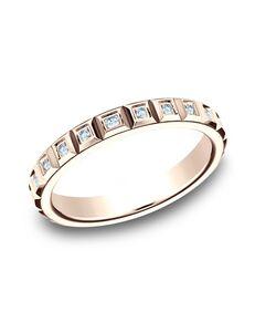 Benchmark 473682R Rose Gold Wedding Ring