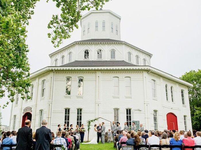 Wedding venue in Lexington, Kentucky.