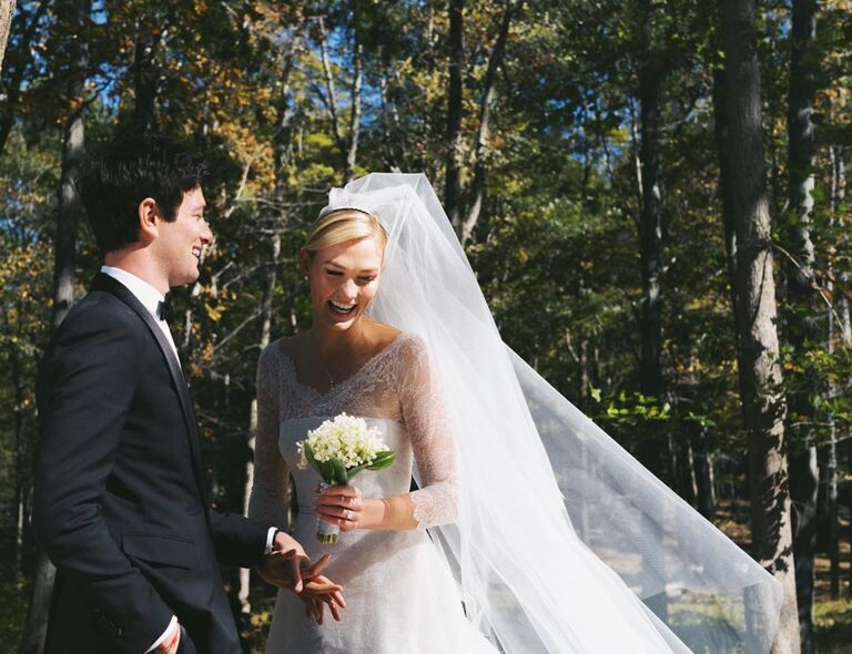 Karlie Kloss Wedding Dress