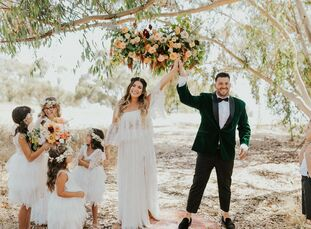 When the ongoing pandemic forced Kelly and Joseph to scrap their original wedding plans, they decided to move forward with tying the knot, but with on