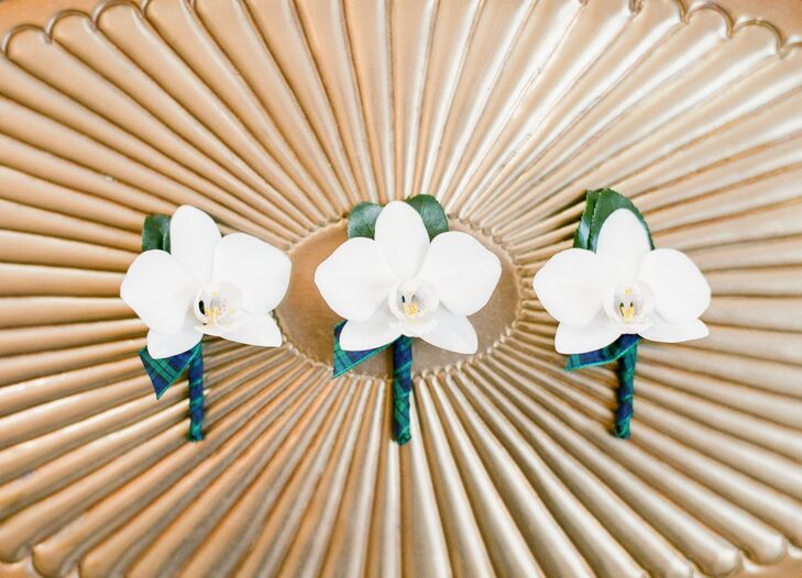 Classic Orchid Boutonnieres